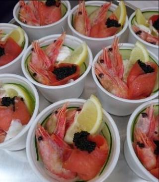 Swedenday shrimp